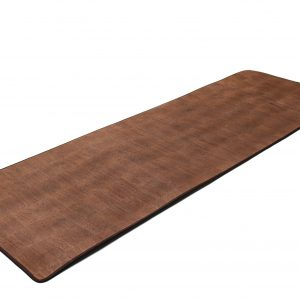 Premium Cork Yoga Mat with shoulder straps.