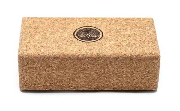 eco-friendly cork yoga block